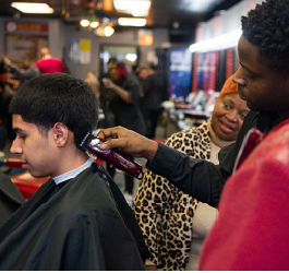At-Risk Chicago Youth Graduate from Fade it Forward Program, Launch Barber Careers---ABC 7